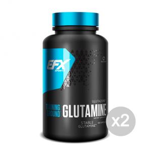 Set 2 EFX Glutamine Formato: 120 capsule Integratori sportivi, benessere fisico