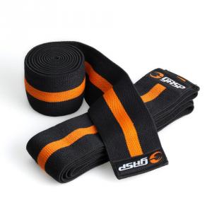 GASP Knee Wraps Formato: Unico abbigliamento sportivo e accessori fitness