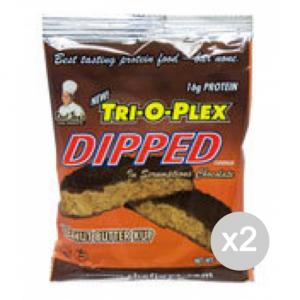 Set 2 CHEF JAY Trioplex DIPPED Cookie gusto: Farina D'Avena Raisin Formato: 85 g