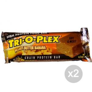 Set 2 CHEF JAY Trioplex gusto: Peanut Butter Banana Formato: 118 g Integratori