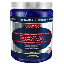 ALLMAX BCAA 2:1:1 Formato: 400 g Integratori sportivi, benessere fisico