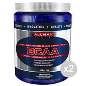 Set 2 ALLMAX BCAA 2:1:1 Formato: 400 g Integratori sportivi, benessere fisico
