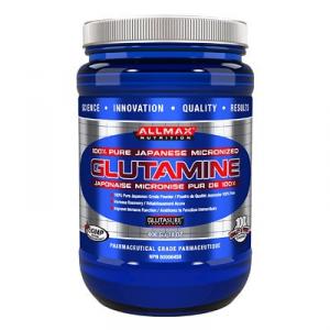 ALLMAX Glutamine Formato: 400 g Integratori sportivi, benessere fisico