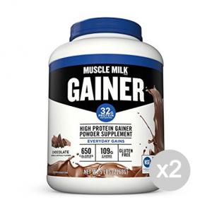 Set 2 CYTOSPORT Muscle Milk Gainer gusto: Vaniglia Formato: 2268g Integratori sportivi