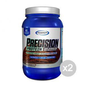 Set 2 GASPARI Precision Protein gusto: Gelato Alla Vaniglia Formato: 907g Integratori