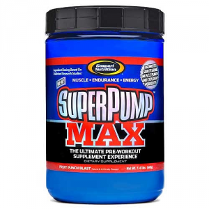 GASPARI Super Pump MAX gusto: Rinfrescante Arancione Formato: 640g Integratori