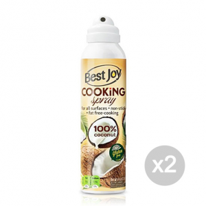 Set 2 BEST JOY Cooking Spray 100% Coconut Formato: 201g Integratori sportivi