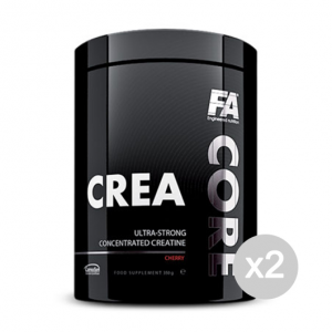 Set 2 FITNESS AUTHORITY Crea Core gusto: Cherry Formato: 350 g. Integratori sportivi