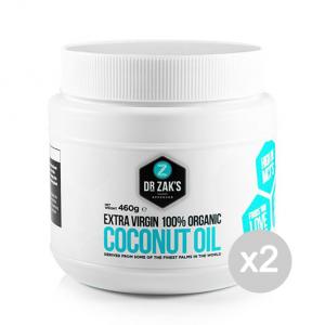 Set 2 DR ZAKS Coconut Oil Formato: 500ml Integratori sportivi, benessere fisico