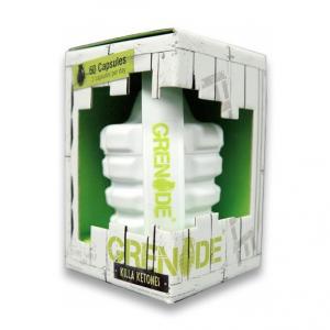 GRENADE Killa Ketones Formato: 60 capsule Integratori sportivi