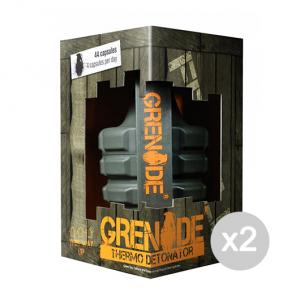 Set 2 GRENADE Thermo Detonator Formato: 44 capsule Integratori sportivi