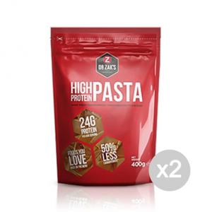 Set 2 DR ZAKS High Protein Pasta Formato: 400 g. Integratori sportivi, benessere