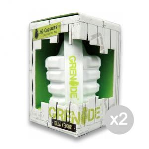 Set 2 GRENADE Killa Ketones Formato: 60 capsule Integratori sportivi