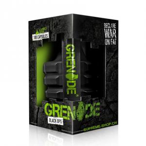GRENADE Black Ops Formato: 100 capsule Integratori sportivi, benessere