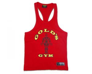 GOLDS GYM Cannottiera Rossa taglia XL abbigliamento sportivo e accessori fitness