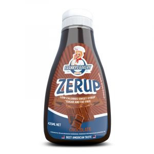 FRANKYS BAKERY Zerup gusto: Caramello Salato Formato: 425ml Integratori sportivi