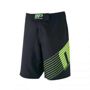 MUSCLEPHARM Pantaloncini Woven Short Sportline Black-XL allenamento e fitness