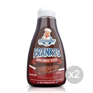 Set 2 FRANKYS BAKERY Frankys - BBQ Sauce Formato: 425ml Integratori sportivi
