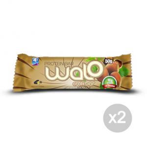 Set 2 4+ NUTRITION Walo Crok Bar gusto: Cioccolato Cocco Formato: 50 g. Integratori