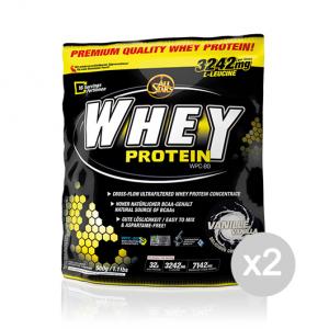 Set 2 ALL STARS Whey Protein gusto: Cioccolato Formato: 500 g. Integratori sportivi