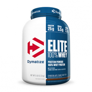 DYMATIZE Elite 100% Whey Protein gusto: Chocolate Fudge Formato: 2100g