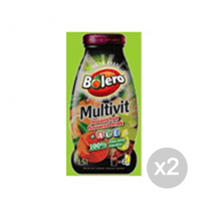Set 2 BOLERO Instant Fruit Flavoured Drink gusto: Multivit Formato: 9 g. Integratori
