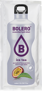 BOLERO Instant Fruit Flavoured Drink gusto Ice Tea - Passion Fruit Formato 9 g.