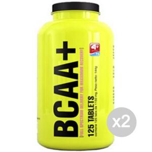 Set 2 4+ NUTRITION BCAA+ Formato: 500 capsule Integratori sportivi, benessere fisico