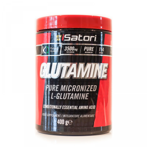 ISATORI Glutamine Formato: 400 g Integratori sportivi, benessere fisico