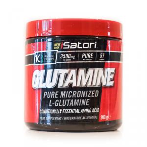 ISATORI Glutamine Formato: 200 g Integratori sportivi, benessere fisico