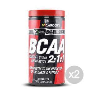 Set 2 ISATORI BCAA's Formato: 100 tab Integratori sportivi, benessere fisico