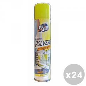 BERGEN Pulisvelt Set 24 BERGEN Pulisvelt Acchiappa-polvere limone 300 ml. spray - pulitori specifici