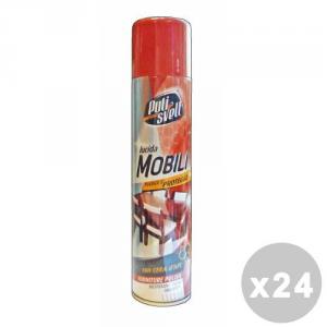 BERGEN Pulisvelt Set 24 BERGEN Pulisvelt Lucida mobili 300 ml. spray - detergenti per mobili