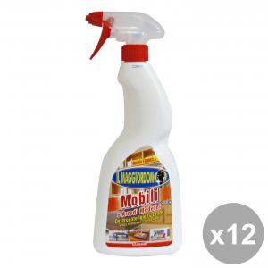 Set 12 IL MAGGIORDOMO Mobili Spray 750 Ml. Detergenti casa