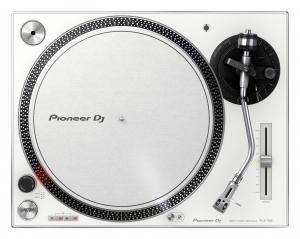 PIONEER DJ PLX-500 Coppia elevata, Giradischi a trazione diretta - Bianco