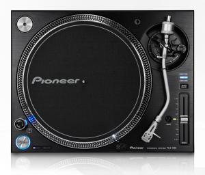 PIONEER DJ PLX-1000 Coppia elevata Giradischi professionale a trazione diretta (Nero)
