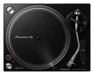 PIONEER DJ PLX-500 Coppia elevata, Giradischi a trazione diretta - Nero