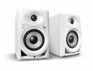 PIONEER DJ Pioneer DJ DM-40BT-W Casse Desktop Monitor speakers con Bluetooth® Bianco
