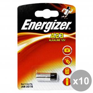 Set 10 ENERGIZER A23 12V Pila ALKALINA Elettricità