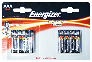 ENERGIZER Power ministilo aaa * 8 pz. - pile e torce