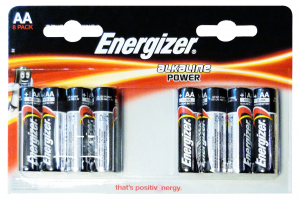 ENERGIZER Power aa stilo * 8 pz. - pile e torce