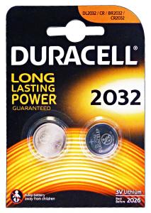 DURACELL Specialistiche 2032 3 Volt 2 Pezzi Lithium Pile E Batterie