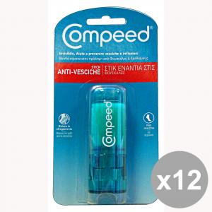 Set 12 COMPEED Stick Anti-VESCICHE 8 Ml. Cura del corpo