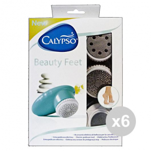Set 6 CALYPSO BEAUTY FEET SET Elettrico Cura del corpo