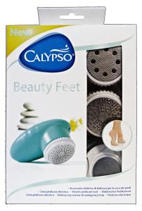 CALYPSO BEAUTY FEET Set Elettrico Cura dei Piedi