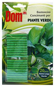 DOM Bastoncini Concimanti Piante Verdi Giardinaggio