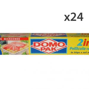 Set 24 DOMOPAK PelliCOLA 2 In 1 20 MT. Contenitori per la cucina