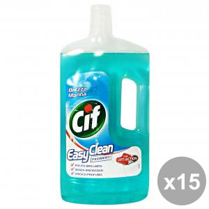 Set 15 CIF Pavimenti BREZZA MARINA 1 Lt. Detergenti casa