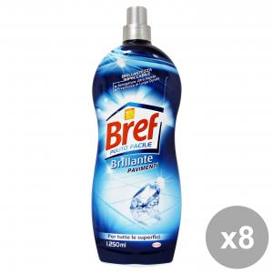 Set 8 BREF Pavimenti TUTTE Superfici 1250 Ml.  Detergenti casa