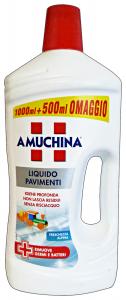 AMUCHINA Pavimenti 1,5 Lt. Detergenti Casa